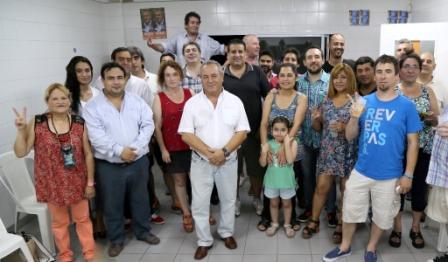 Roberto Passo y la Agrupación Lealtad celebraron el fin de año