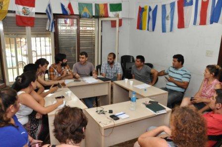 Encuentro de concejales del Movimiento Evita de la primera sección electoral
