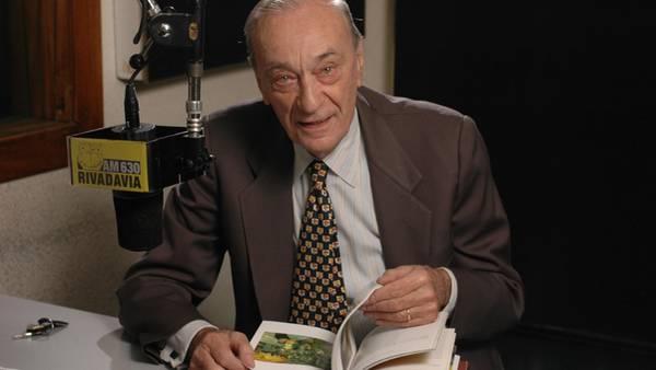 Antonio Carrizo murió a los 89 años
