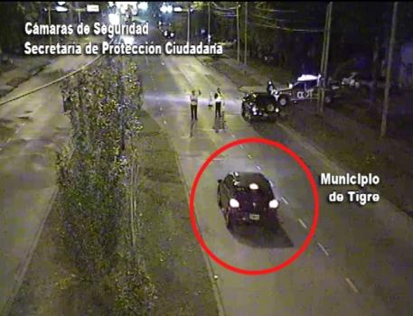 Escapó de dos controles policiales y terminó detenido en Tigre