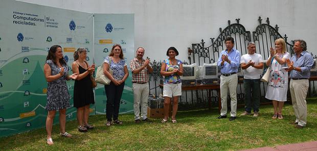 Entregaron computadoras recicladas a entidades sociales de San Isidro