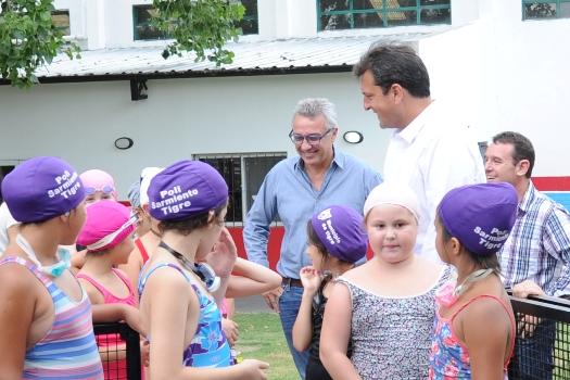 Más de 12 mil chicos participan de las Colonias de Verano en Tigre
