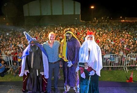 15.000 chicos sanfernandinos recibieron a los Reyes Magos en el Polideportivo N° 1