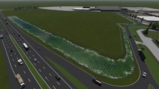 San Isidro suma otro reservorio en el bajo Boulogne