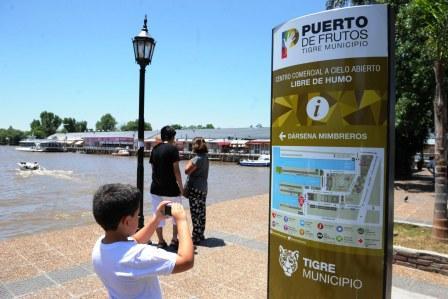 Puerto de Frutos de Tigre, un paseo que no deja de renovarse