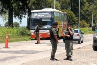 Bullrich respaldó a las fuerzas de seguridad en la búsqueda de los prófugos