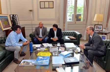 Auspiciosa reunión de trabajo entre San Fernando y el Ministerio de Educación y Deportes de la Nación