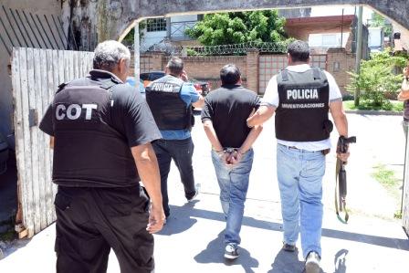 Decomiso de drogas en Tigre