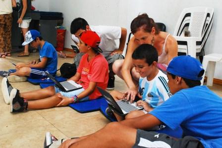En verano, Tigre refuerza su apoyo escolar en los polideportivos