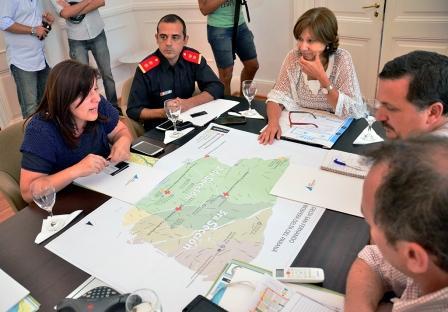 San Fernando se prepara para prevenir posibles crisis por crecidas del río