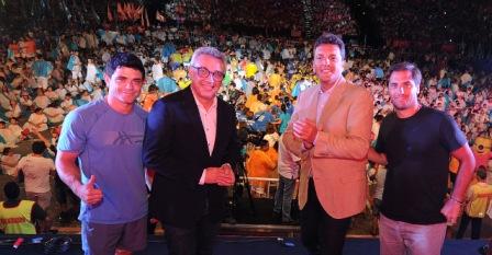 Julio Zamora y Sergio Massa inauguraron las Colonias de Verano de Tigre con una multitudinaria fiesta