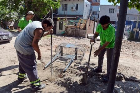 """Continúa el """"Plan Municipal de Mejoramiento de barrios"""" en San Fernando."""