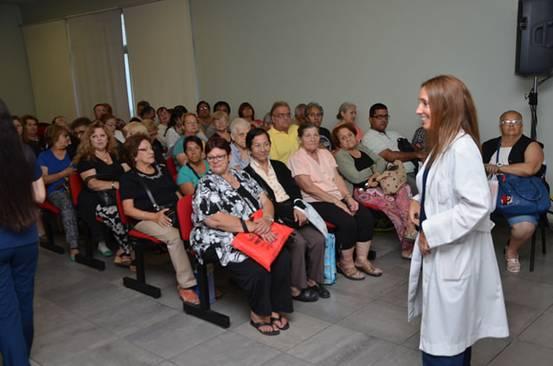Reanudan los encuentros de nutrición en San Isidro