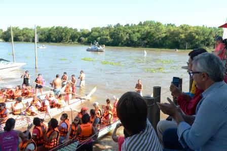Tigre, primera ciudad anfitriona de Sudamérica del Dragon Boat Festival
