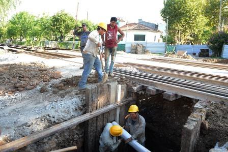 Avanzan las obras del túnel de Chacabuco en Tigre