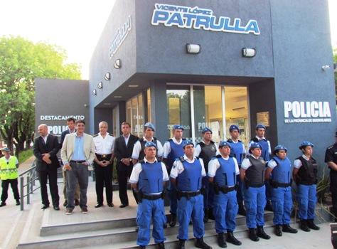 Se inauguró un nuevo destacamento Policial en Villa Martelli
