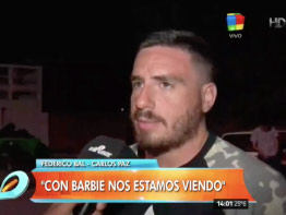 Fede Bal reconoció que sigue viéndose con Barbie Vélez