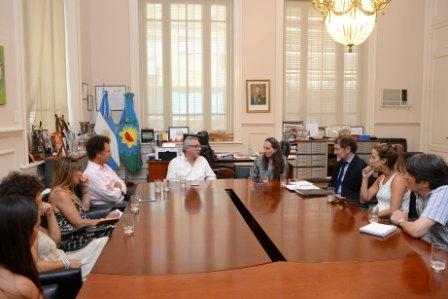 El intendente de Tigre, Julio Zamora se reunió con representantes del Instituto francés ´Para la Ciudad en Movimiento´