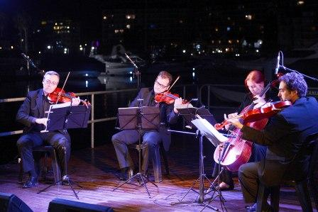 El Cuarteto Petrus musicalizó la noche de Tigre