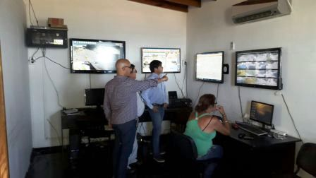 San Fernando asesora a Chascomús para la instalación de su nuevo Centro de Monitoreo