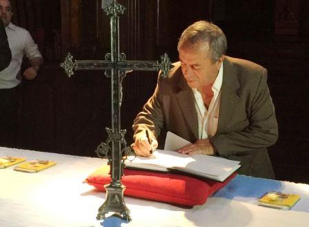 Roberto Passo firmó el pacto de Padua