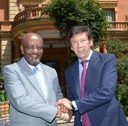 Posse se reunió con el Director General adjunto de la Unesco
