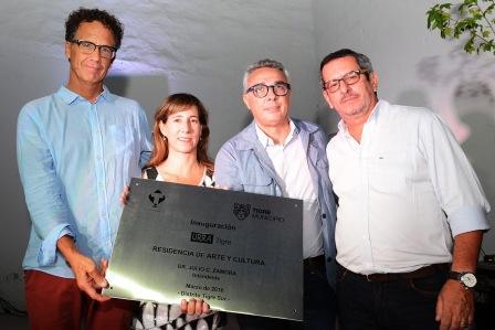Se inauguró en Tigre la residencia URRA, un espacio de arte y cultura