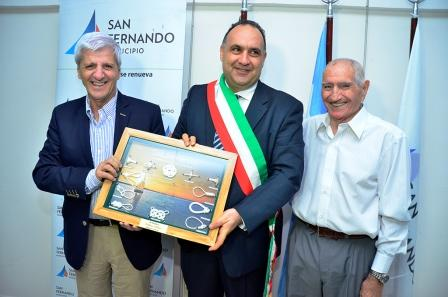 Luis Andreotti se reunió con el Intendente de la comuna italiana de Gizzeria