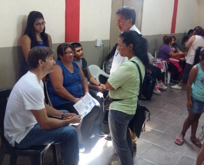 El concejal Segundo Cernadas presentó en Tigre el Operativo Pensiones
