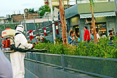 Fuerte campaña contra el dengue en estaciones de tren de San Fernando