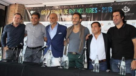 Vicente López dará el puntapié para la Gran Fondo