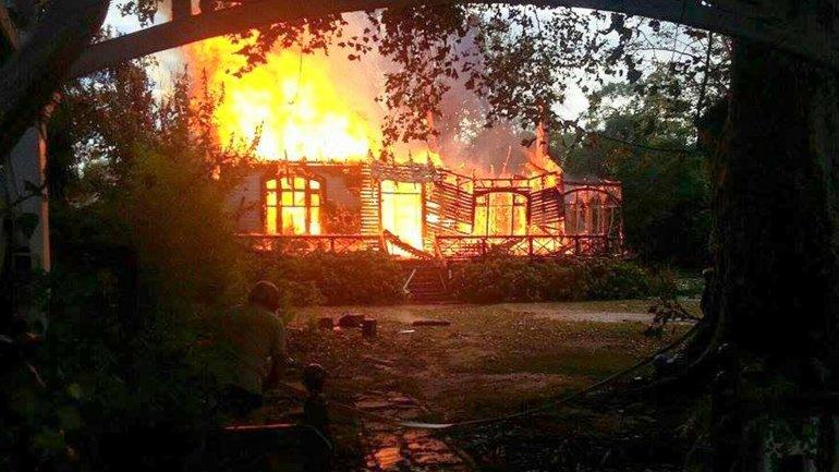 Se incendió la casa de Vitico en el Delta de Tigre