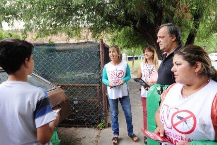 Continúan en Tigre los operativos contra el dengue, chikunguña y zika