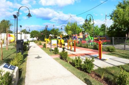San Fernando inauguró la Plaza Virgen de Luján