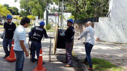 San Fernando mejora su sistema de cámaras de seguridad