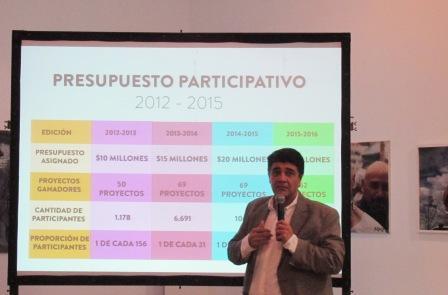 Vicente López presentó los Foros Vecinales Barriales 2016