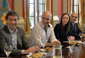 Rodríguez Larreta y Vidal anunciaron medidas conjuntas para mejorar la atención en salud y la seguridad
