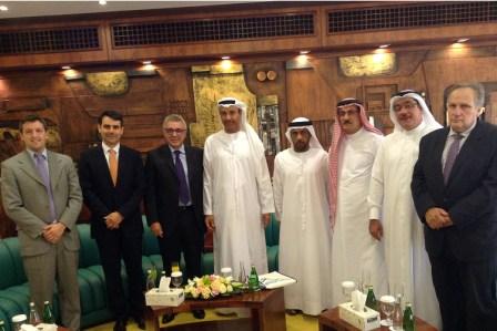 Julio Zamora se reunió con su par de Dubai para intercambiar experiencias de gestión