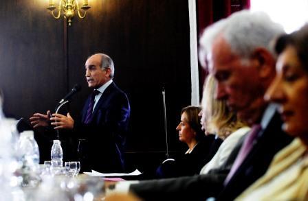 El vicegobernador Daniel Salvador estuvo presente en los actos conmemorativos del centenario del Departamento Judicial de Azul y se reunió con el Intendente local Hernán Bertellys.