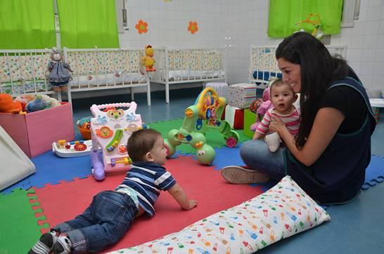 Nueva sala de bebés en el Centro Municipal de Cuidado Infantil de San Isidro