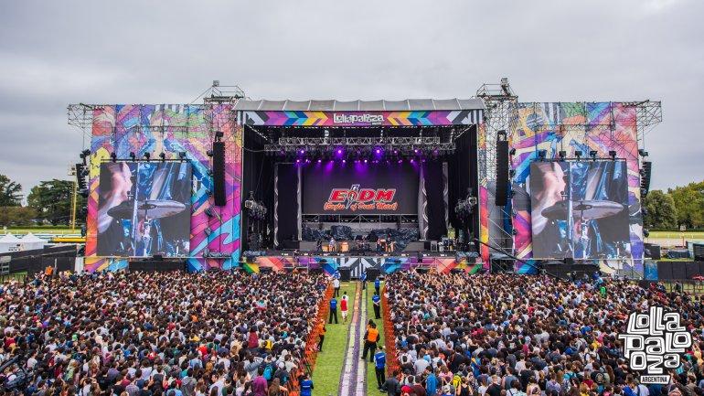 Rock alternativo y música electrónica en la primera fecha del Lollapalooza 2016