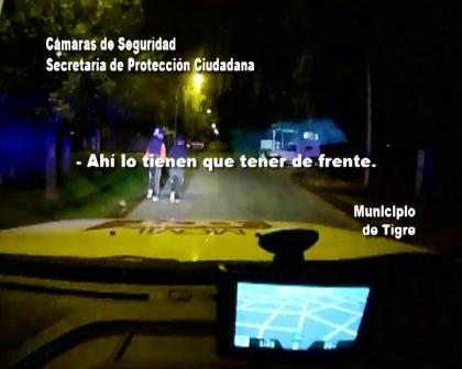 Detienen en Tigre a cinco delincuentes que intentaban ingresar a una casa