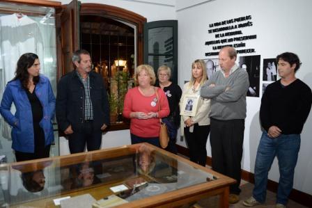 se inauguró la sala de muestras temporarias en el Museo de la Reconquista con una exposición dedicada al cura Francisco Soares