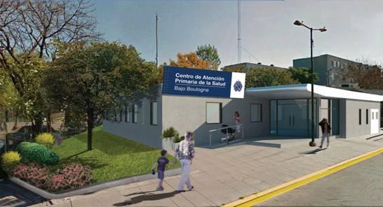 Avanzan obras en el Centro de Atención Primaria de la Salud del Bajo Boulogne
