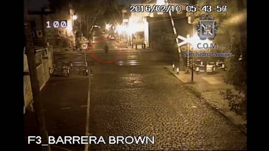 Por las cámaras de seguridad de San Isidro se resuelve un homicidio en Vicente López