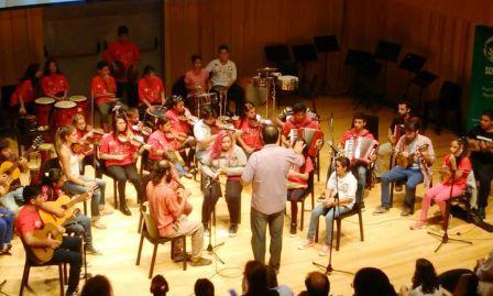 Gran presentación de las orquestas infanto juveniles de Tigre en la Usina del Arte
