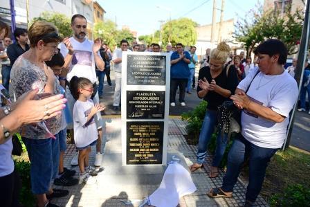 El Municipio homenajeó a sanfernandinos desaparecidos durante la última dictadura militar