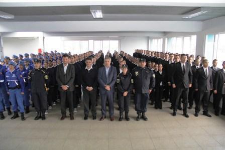 Nueva camada de cadetes de la policía local de Vicente López