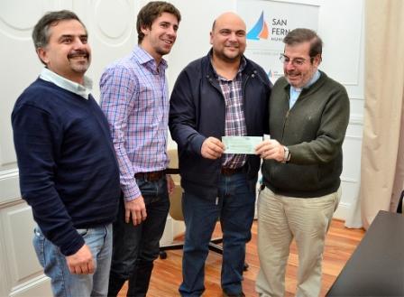 San Fernando aportó otros $500.000 a la restauración de la Parroquia Ntra. Sra. de Aránzazu