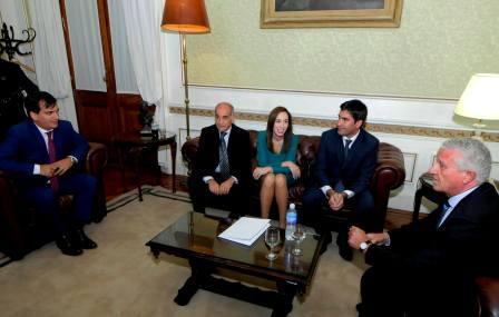 El FR respaldó a Vidal en el reclamo del Fondo del Conurbano